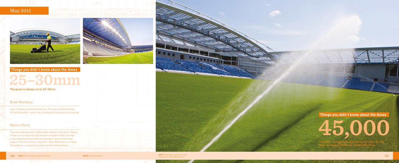 Book design - Stadium, Yes!