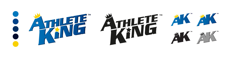 Logo design - Athlete King