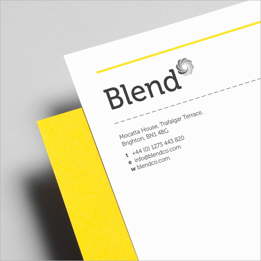 Logo design - Blend