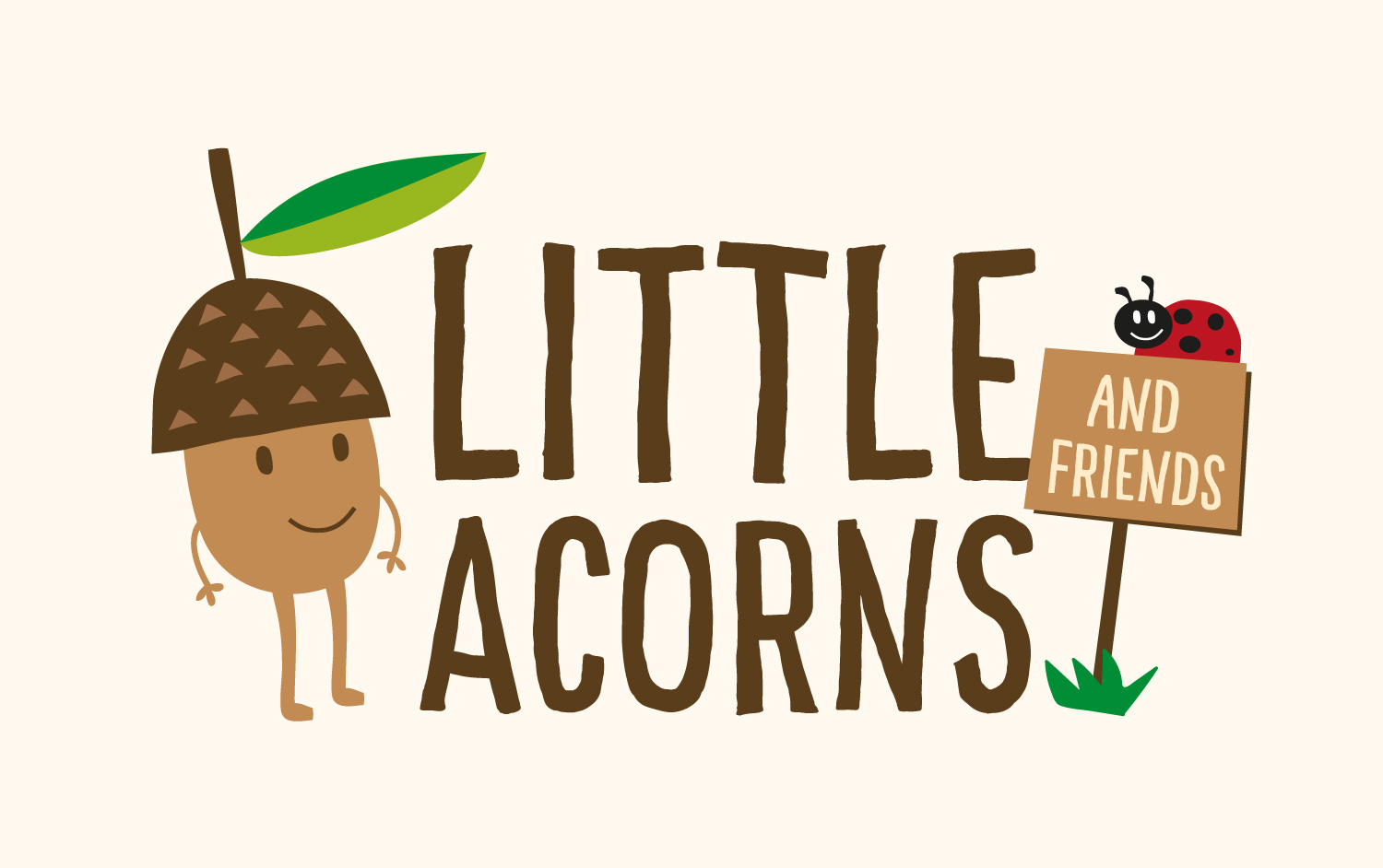Logo design - Little Acorns