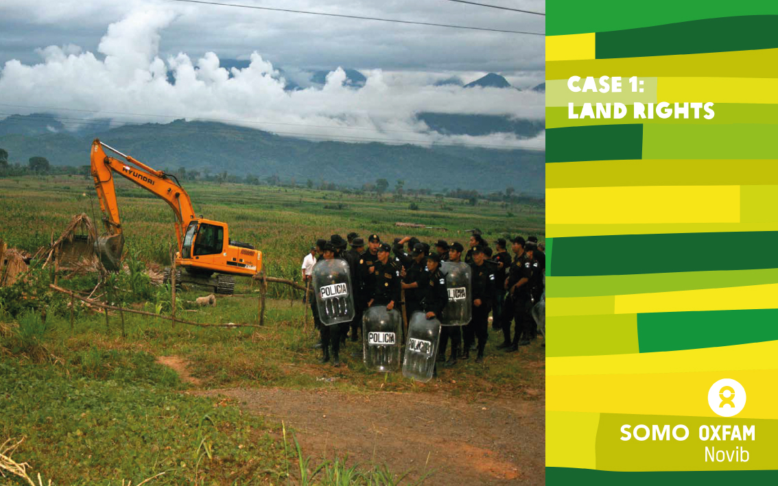 Chapter opener for a marketing brochure for Oxfam Novib